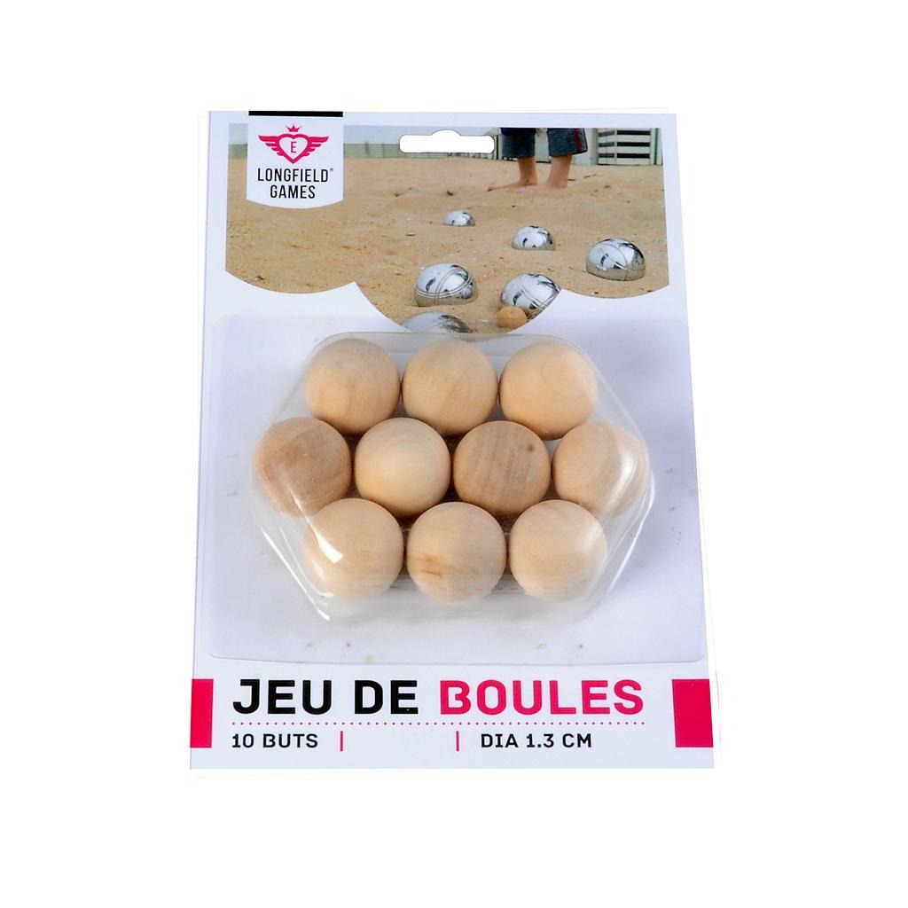 10 wooden Pétanque / Boules jacks