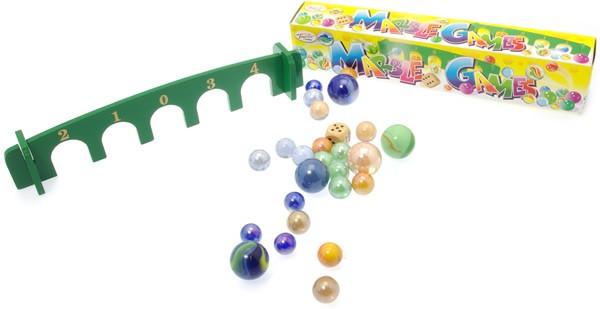 Marble Bridgeboard Target Game