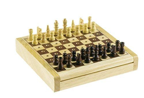 Wooden Travel Chess Set