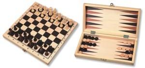 Folding chess & Backgammon
