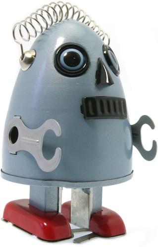 Egg man robot Blue