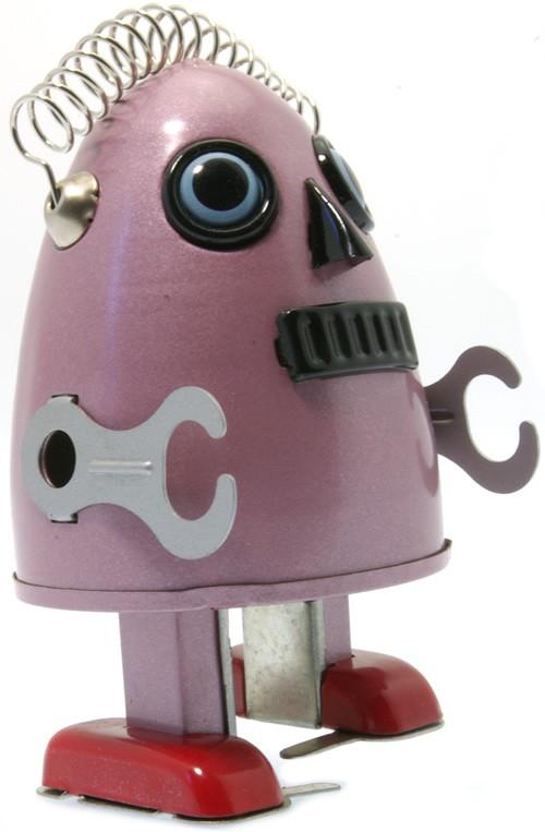 Egg man robot Purple