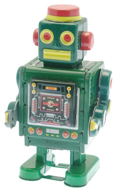 Little Green Robot