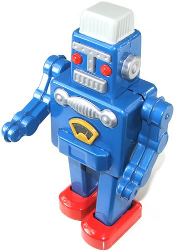 Big Blue Robot