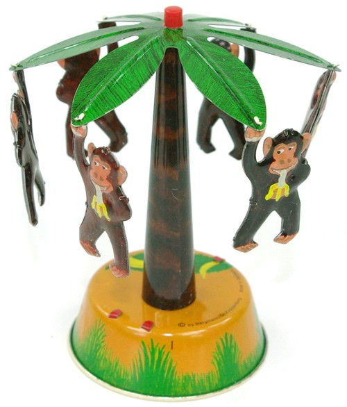 Palm Tree & Monkey Carousel