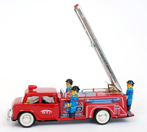 large Fire Engine with ladder