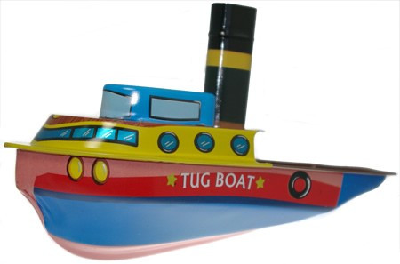Tin Treasure's Pop Pop Tug Boat