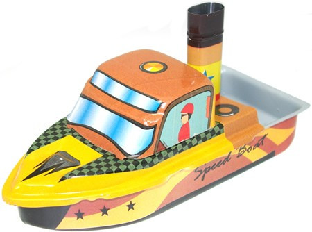 Tin Treasure's Pop Pop Speed Boat