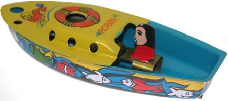 Robin Pop Pop Boat