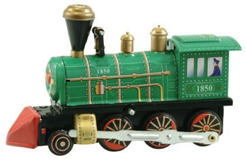 Wind-Up Locomotive