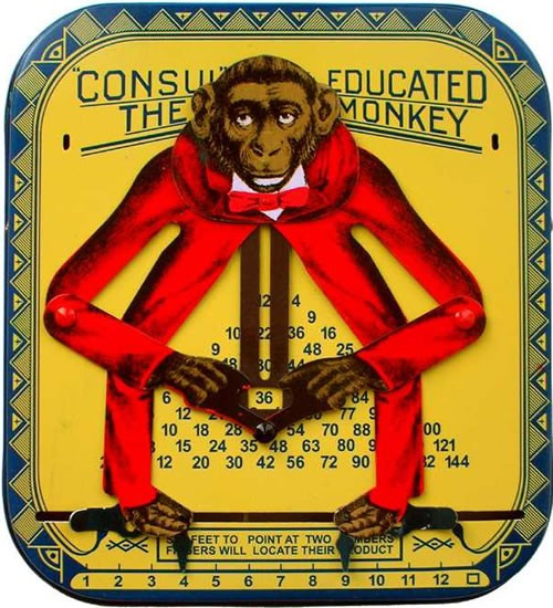 Consult the educated monkey