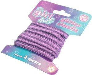 Glitter Elastic - 3 Metres