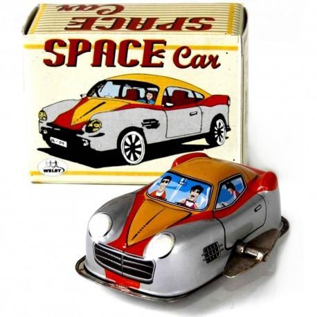 Fire Engine car - Tin Toy / retro / clockwork vehicle toy