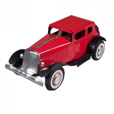 Oldtimer Automobile - black - Tin Toy / retro / clockwork toy car