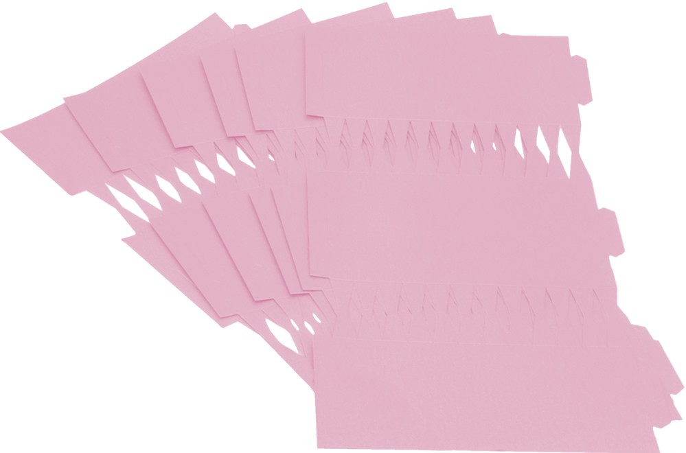 Cracker Kit Card Blanks 35cm - Pink - 6 Pack