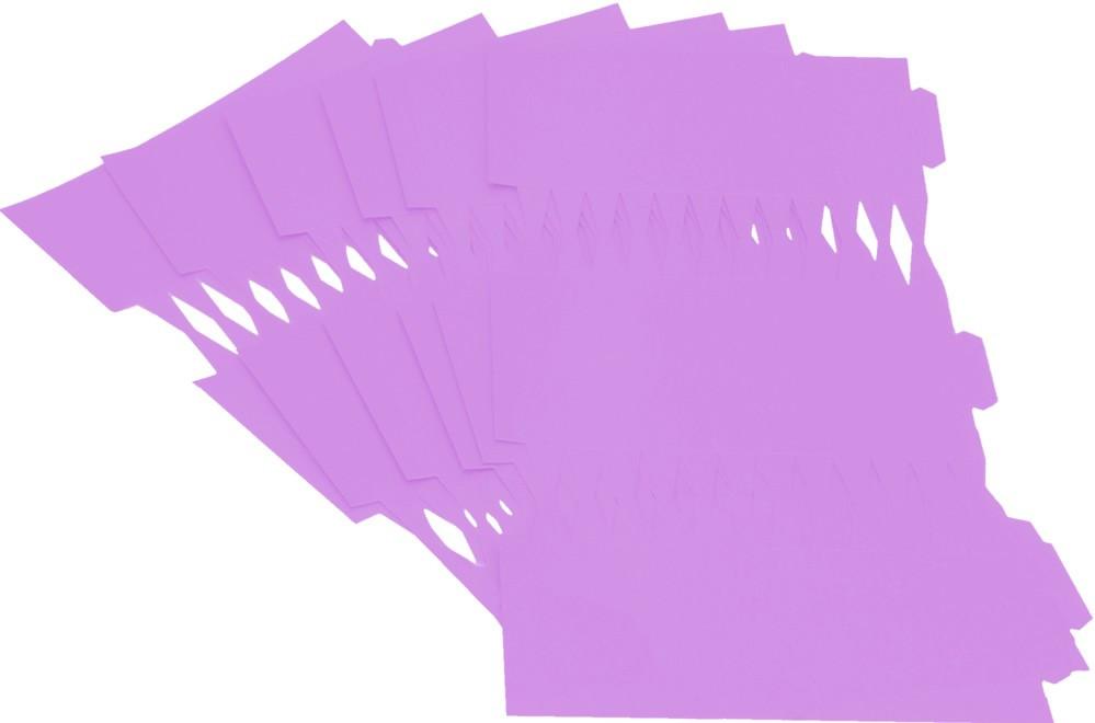 Cracker Kit Card Blanks 35cm - Lilac - 6 Pack