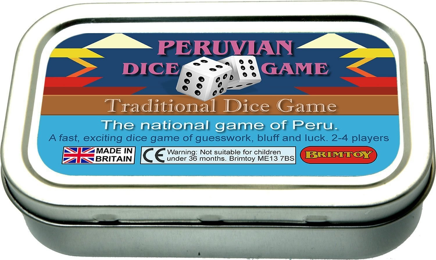 Pocket / Travel Peruvian Dice Game.