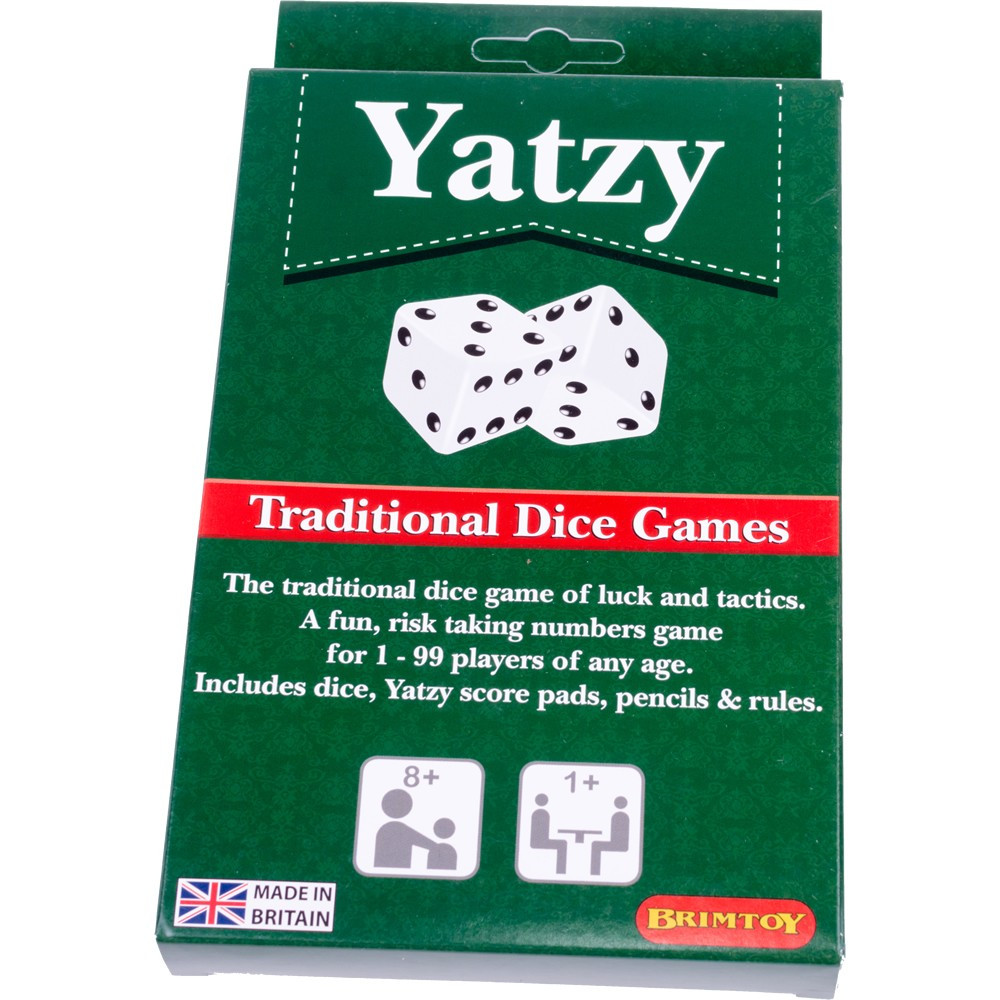 Yatzy - traditional dice game (Yahtzee compatible)