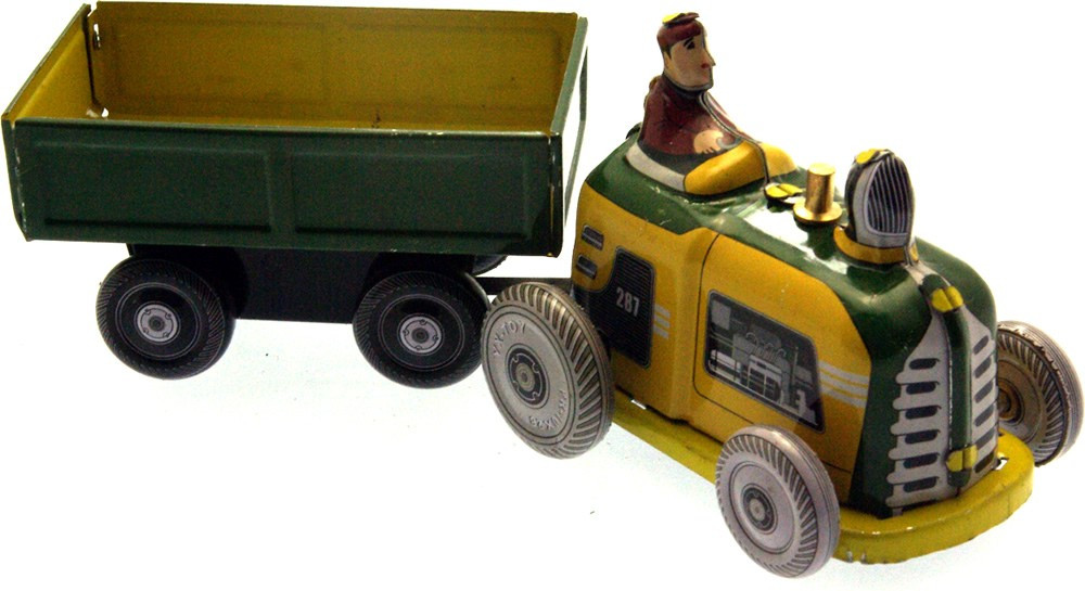 Mini tractor and trailer