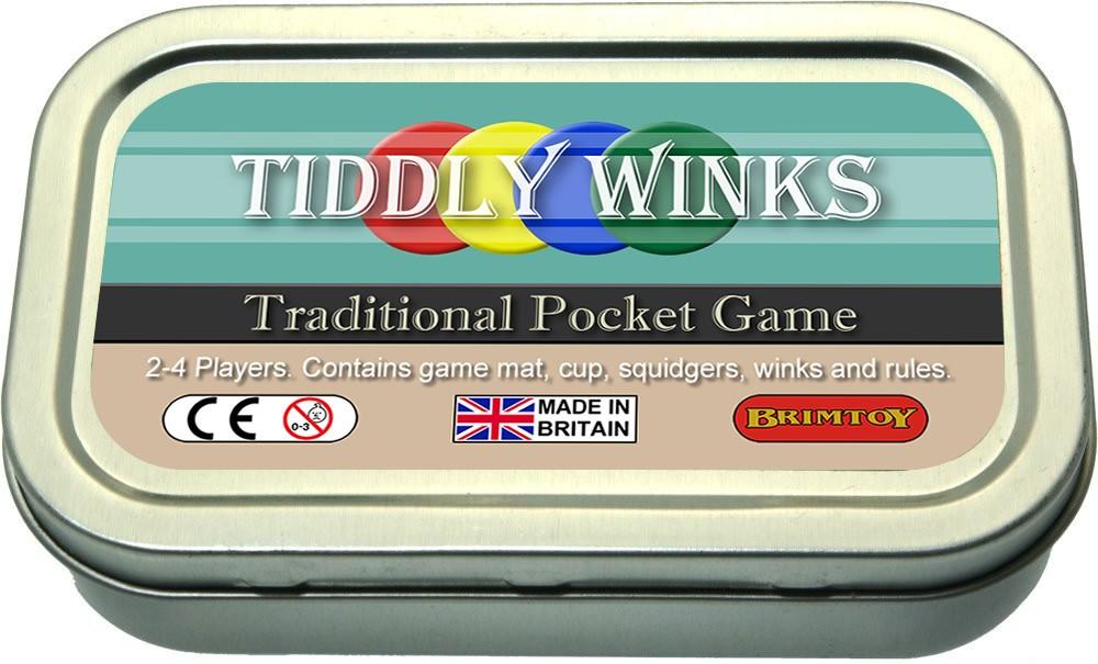 Tiddlywinks travel / pocket version