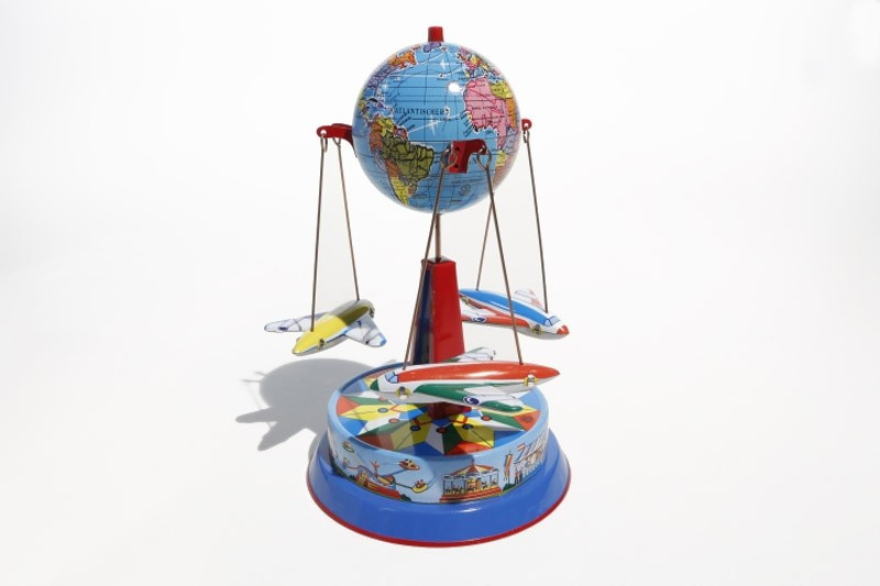 Earth Rocket Carousel
