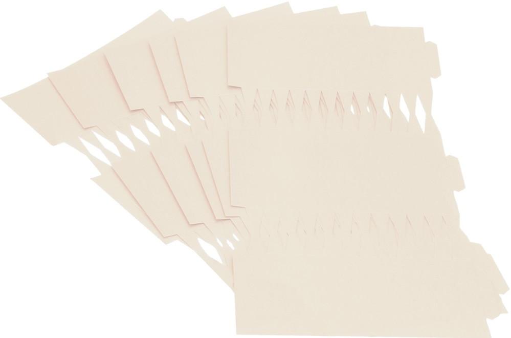 Cracker Kit Card Blanks 35cm - White - 50 Pack