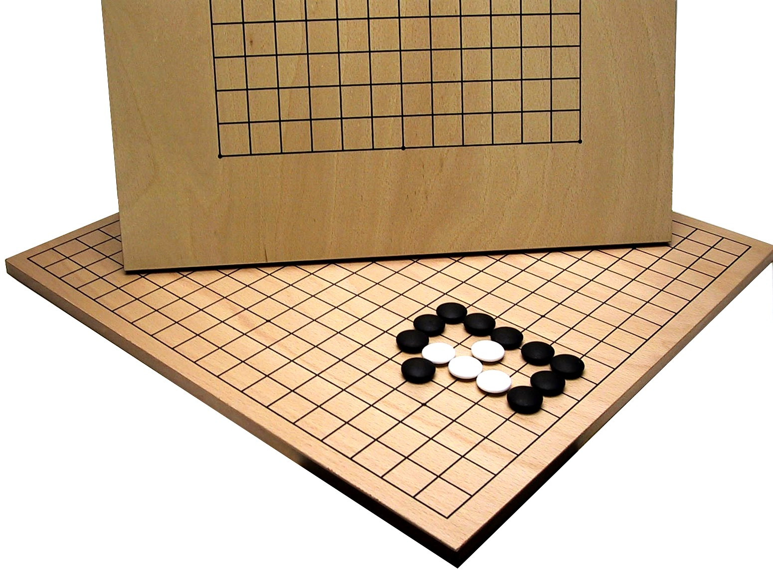Doubled sided Go Board