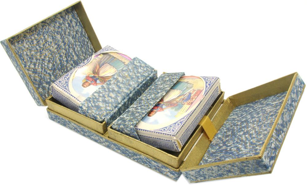 Lavender girl Sealed Vintage Playing Cards