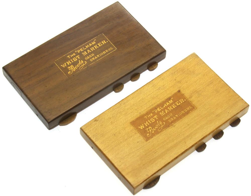 Pelham Whist Markers