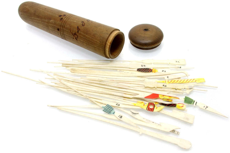 Engelberg antique spillikins / pick-up sticks