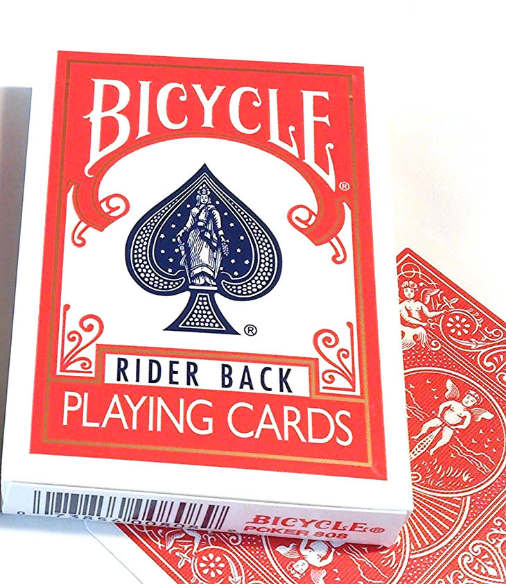 Bicycle Rider Back poker cards