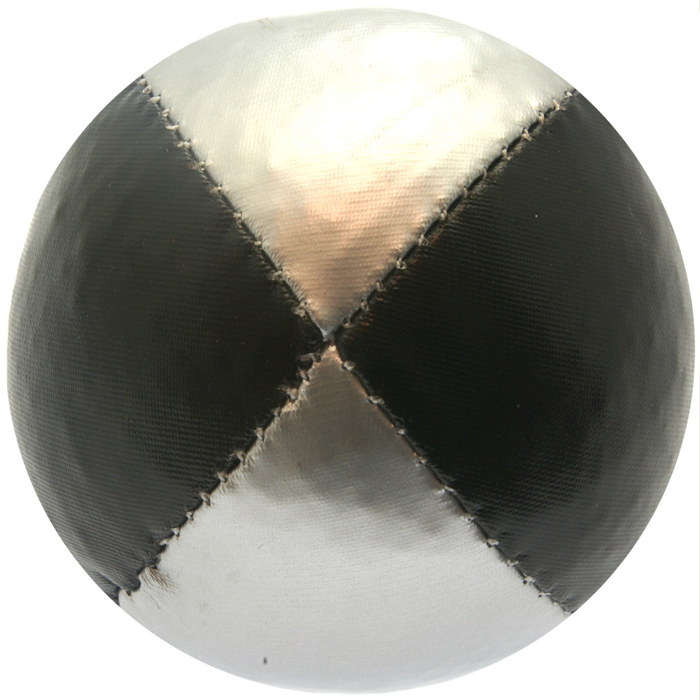 Black & Silver Juggling Ball