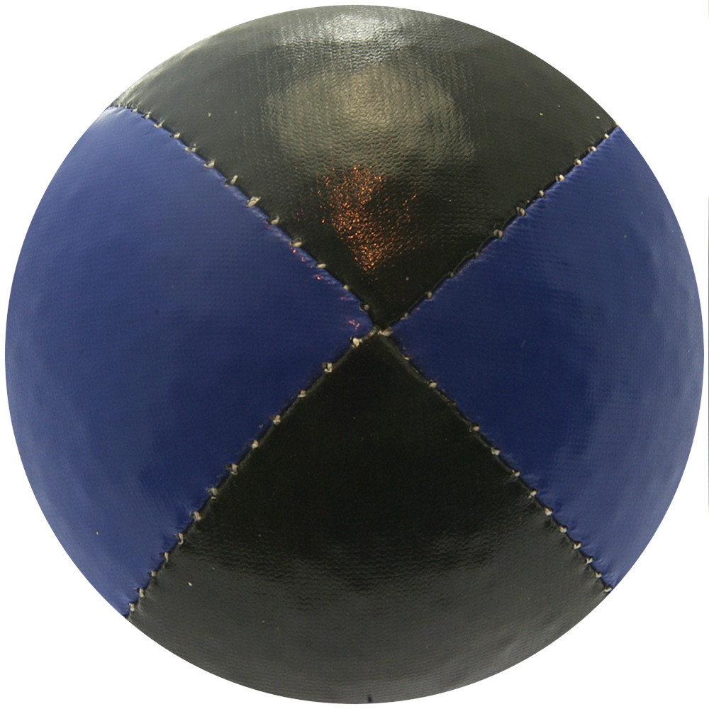 Black & Blue Juggling Ball