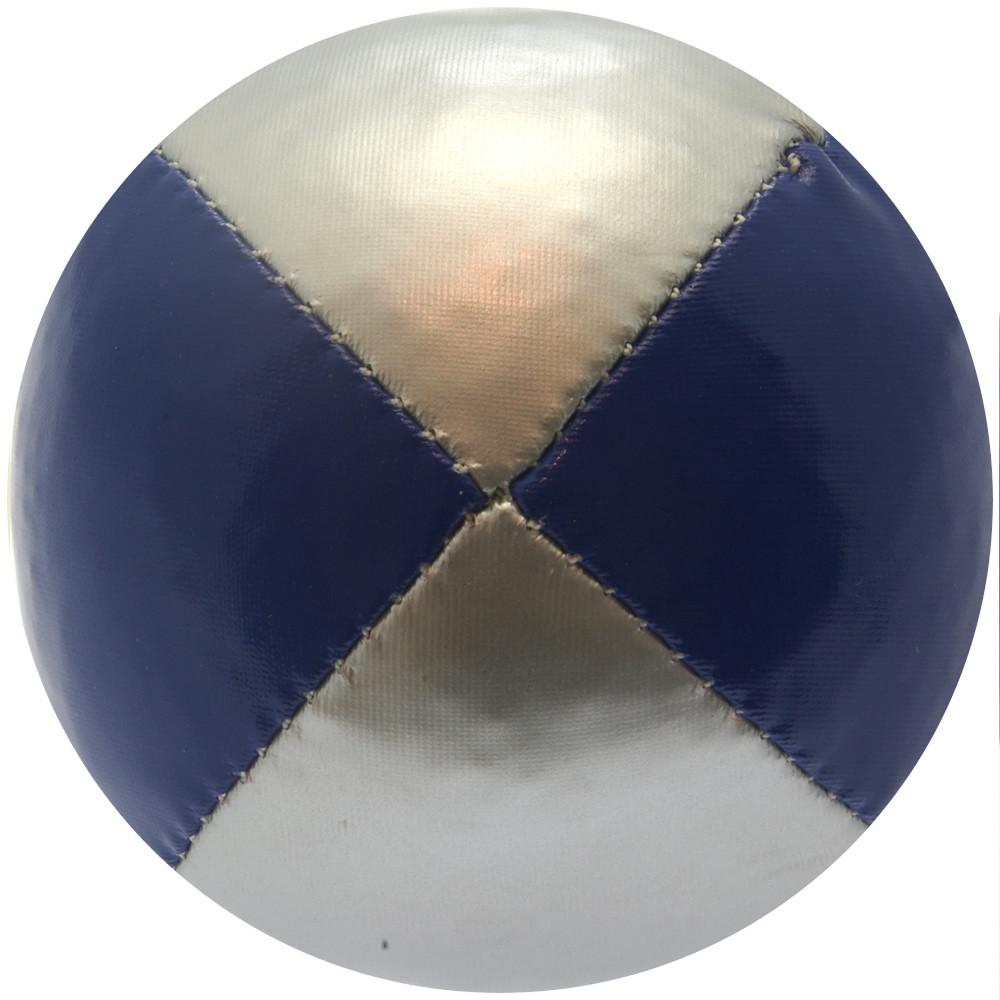 Blue & Silver Juggling Ball