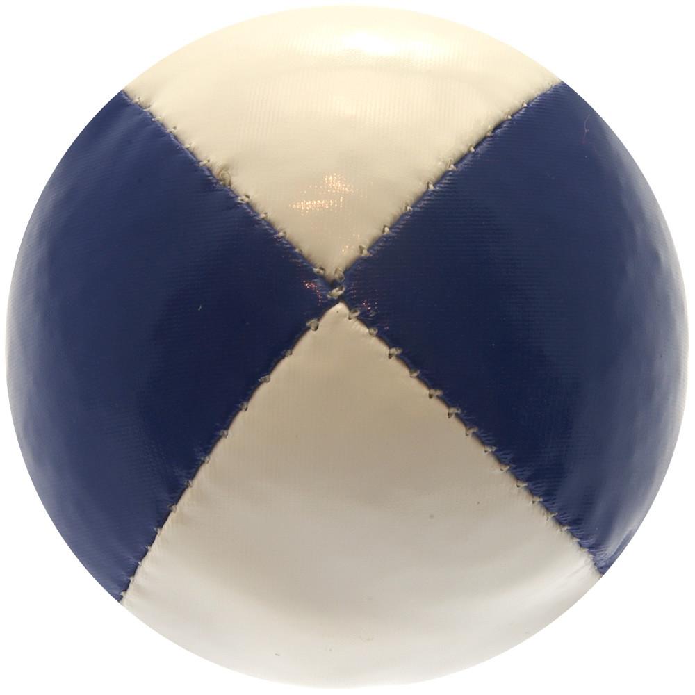 Blue & White Juggling Ball