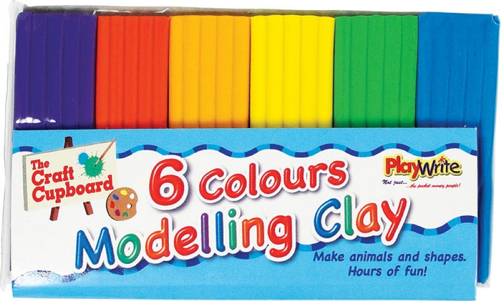 Small Modelling Clay - 6 Pack