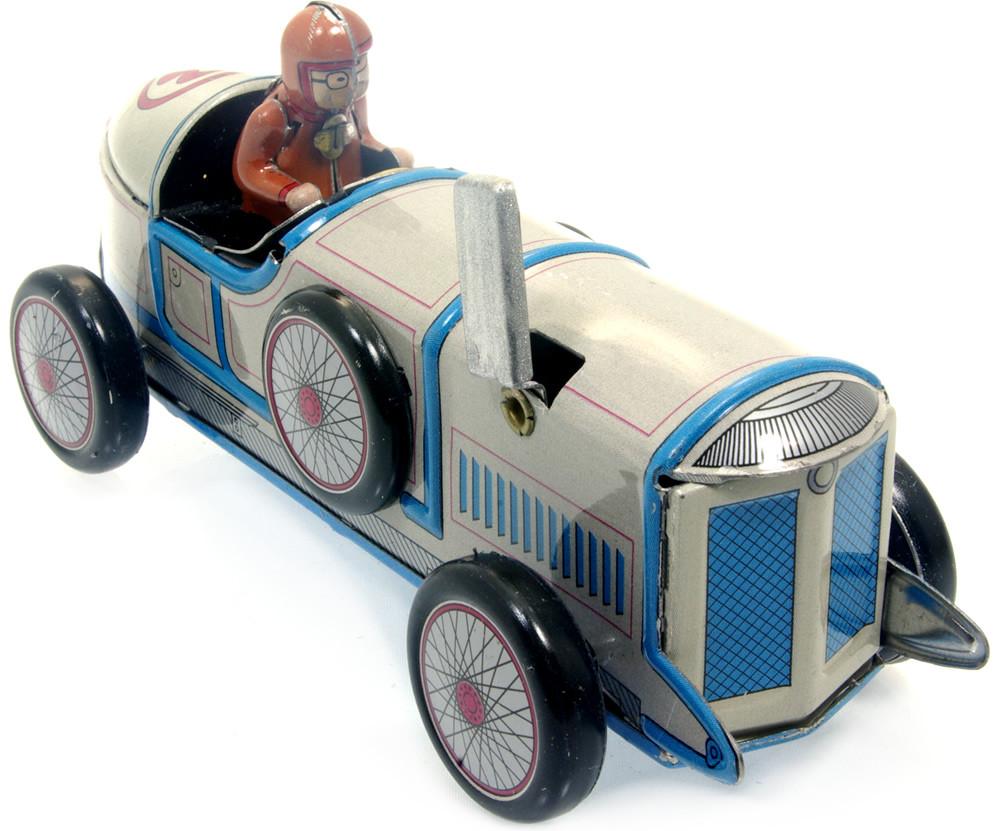 Auto Champion Racer No.3 tin toy racing car.