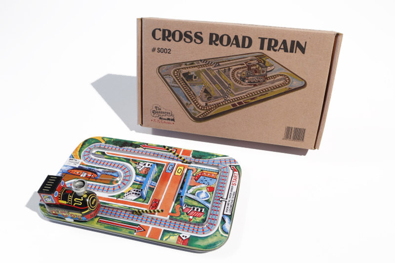 Cross Road Train With Barriers