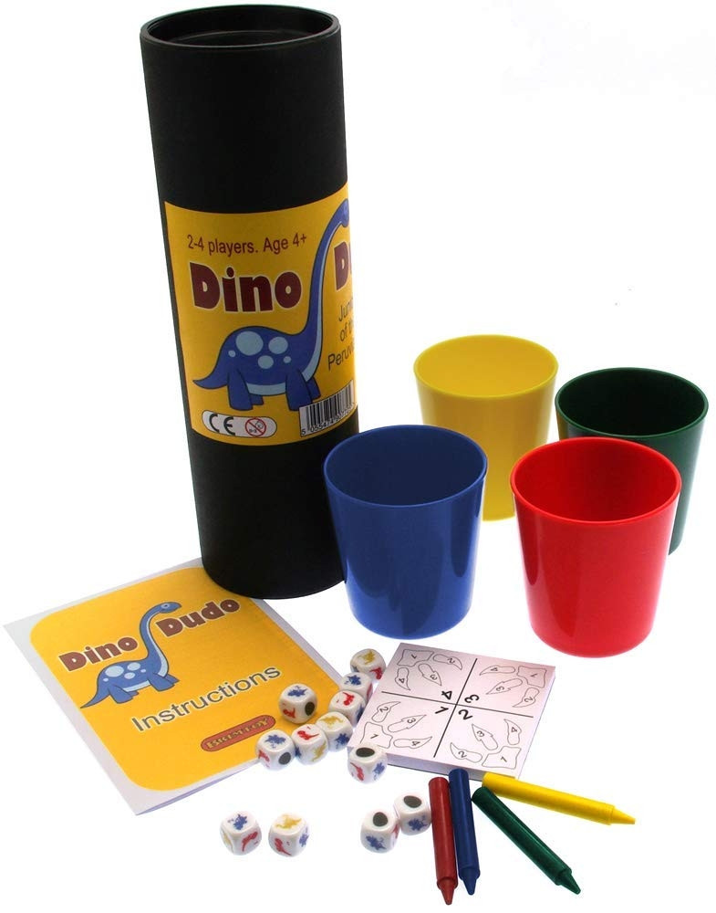 Dino Dudo - Junior version of the popular Peruvian dice game