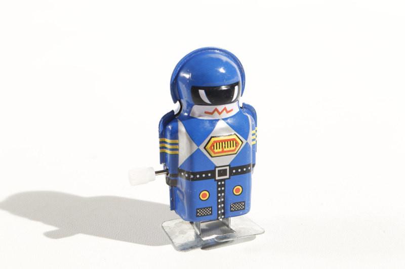 Mini robot Boy Blue