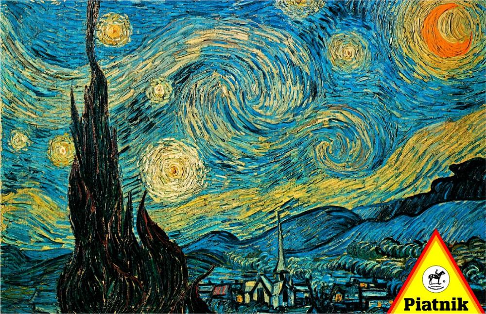 Vincent Van Gogh – Starry Night Puzzle