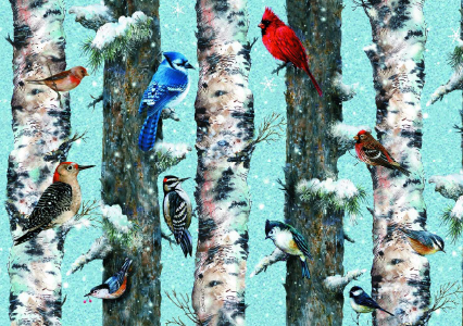Christmas Birds Puzzle