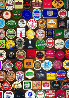 Beer Mats Puzzle