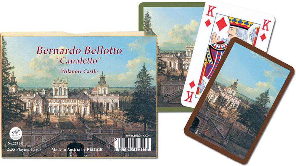 Bernardo Bellotto Wilanow Castle twin decks