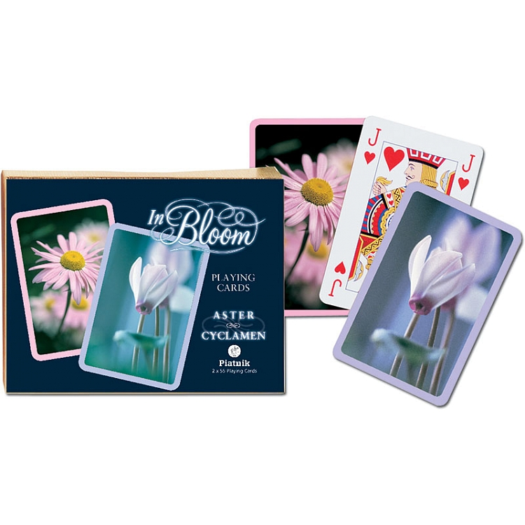 In Bloom Aster and Cyclamen twin decks