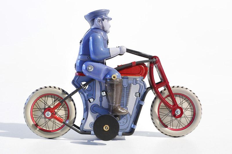 Policeman on Bike