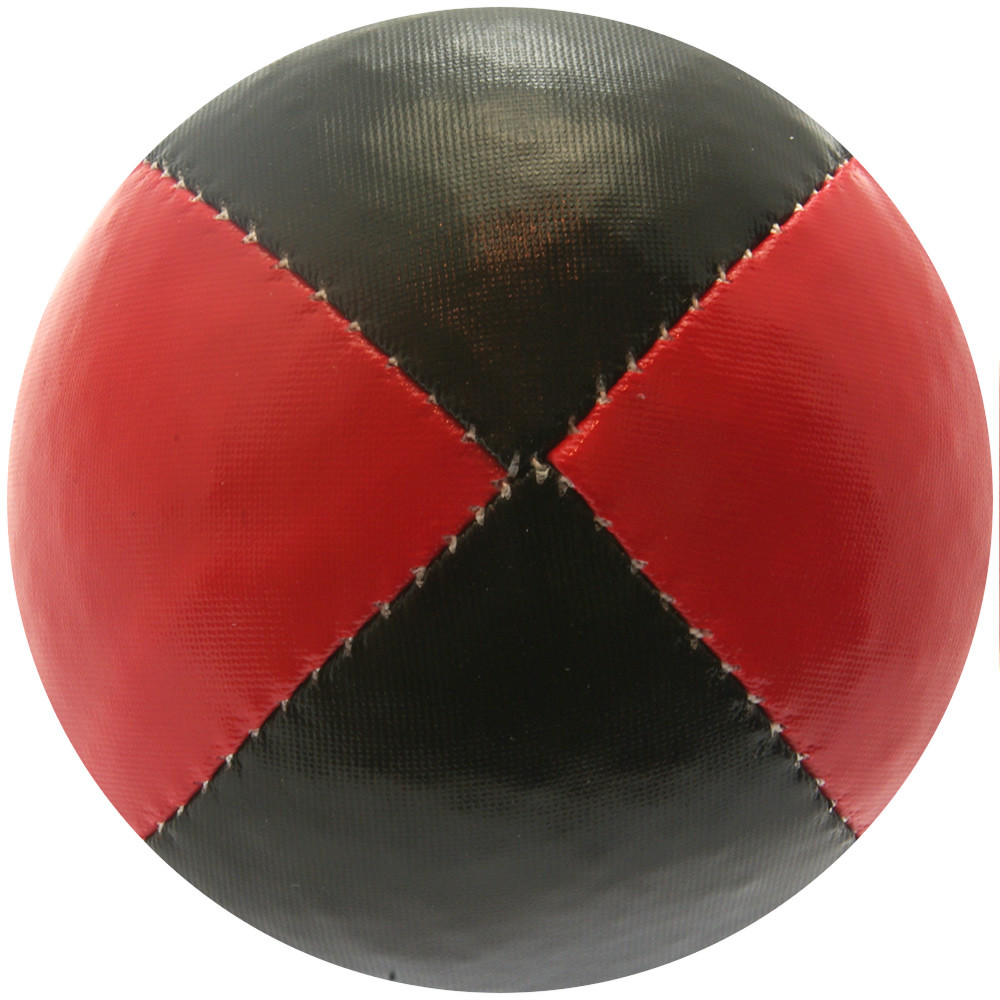 Red & Black Juggling Ball