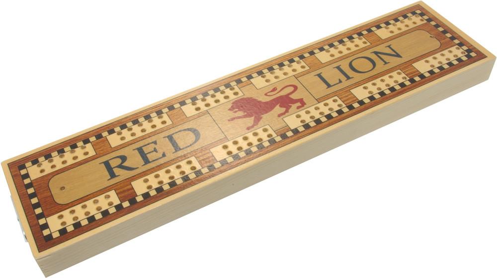 Red lion pub cribbage board