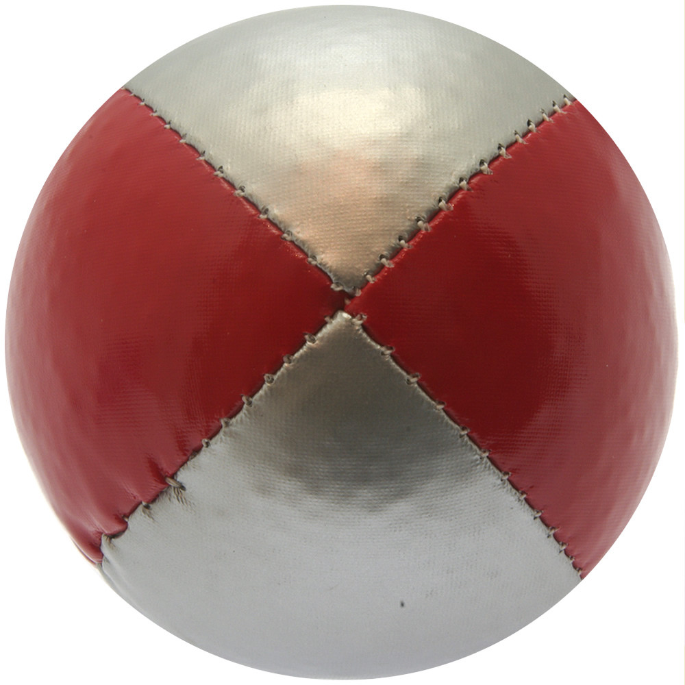 Red & Silver Juggling Ball