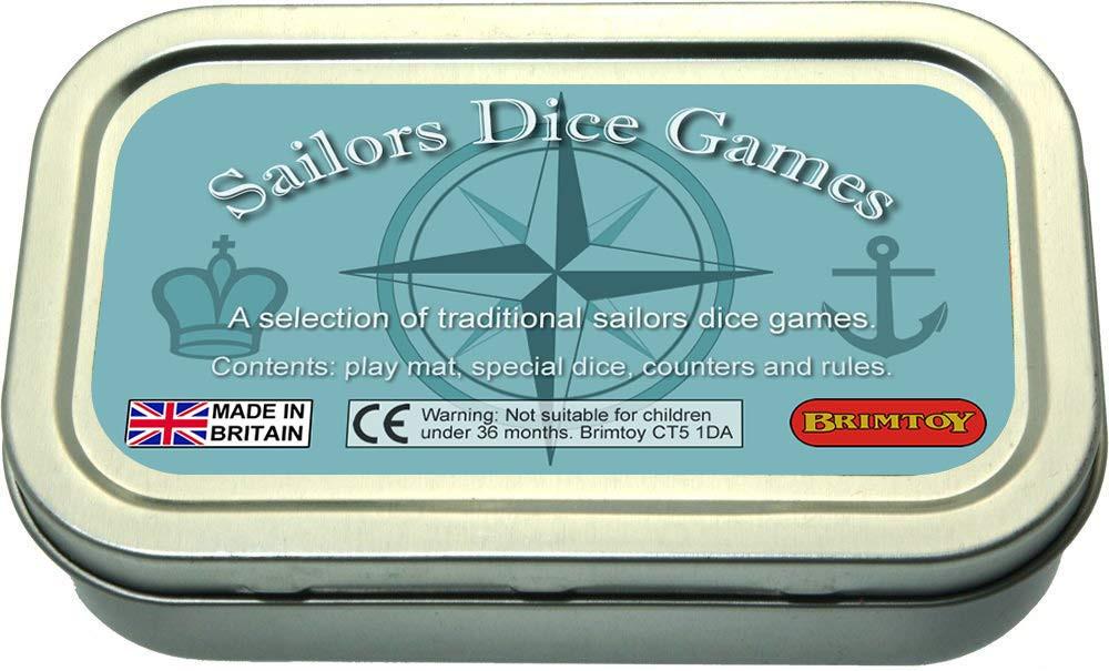 Pocket / Travel Sailor's Dice Games